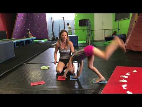 Teaching Kids How To Do A Cartwheel