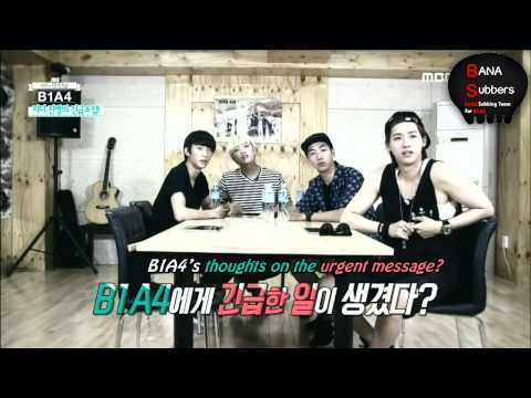 [ENG SUB] 140721 B1A4 One Fine Day Episode 1 Part 1/2