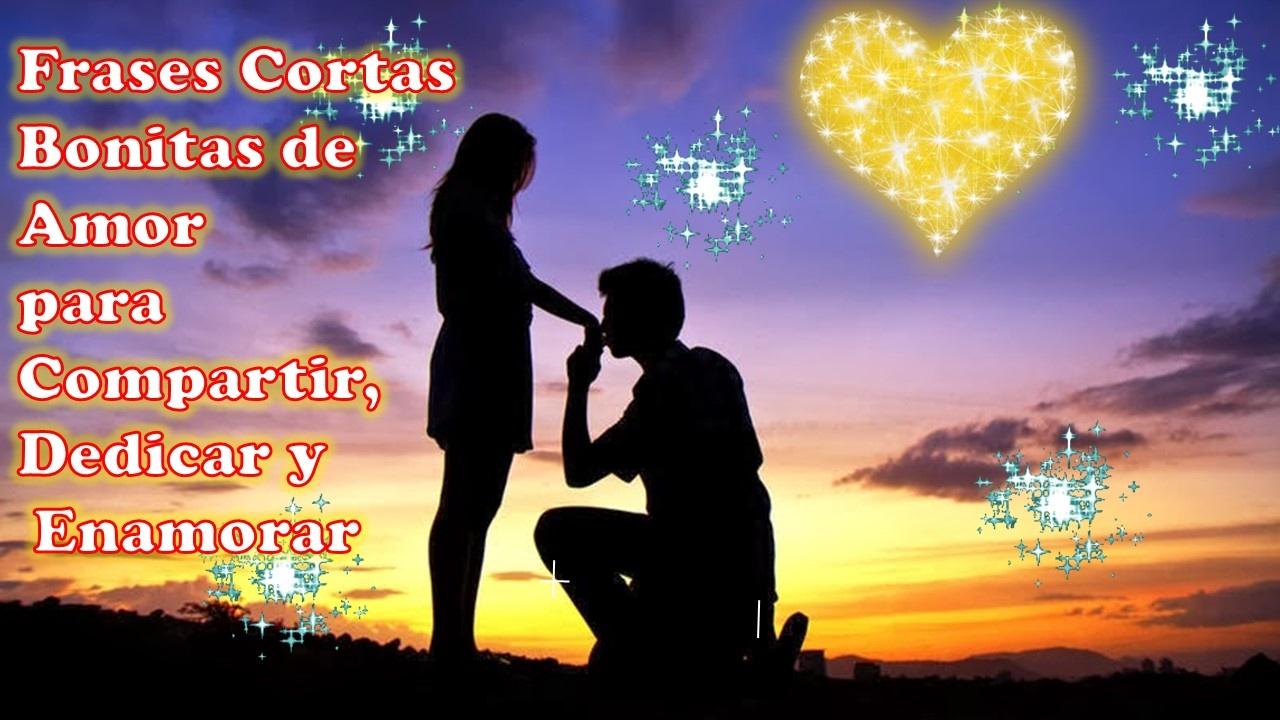 Frases Cortas Bonitas De Amor Para Compartir Dedicar Y Enamorar