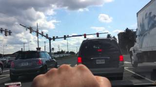 Driving from Chipotle to Walmart in Manassas, Virginia, Sept. 17, 2014