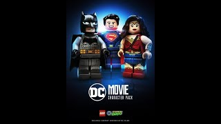 Lego DC Supervillains: DC Movie Character Pack Showcase.