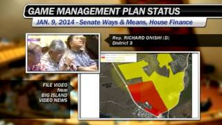 Dlnr Chair Aila Defends Delay On Hawaii Island Game Management Plan (jan. 9, 2014)