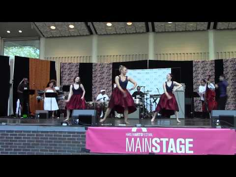 Afro Blue Choreography by Candice Michelle Franklin Harlem Arts Festival Performance