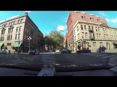 Seattle Dashcam - 1st Ave - Pioneer Square