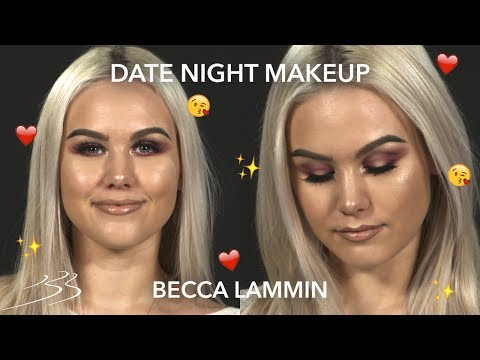 PERFECT DATE NIGHT MAKEUP with Becca Lammin 💖💋 | Beauty Bay
