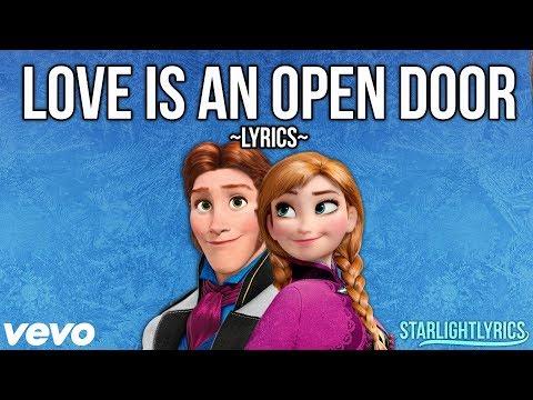 Frozen - Love Is An Open Door (Lyrics) HD