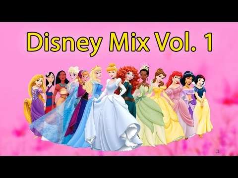 ❤ 8 HOURS ❤ Disney Lullabies Vol. 1 for Babies to go to Sleep Music - Songs to go to sleep