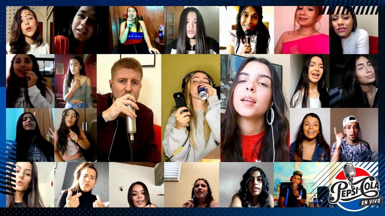 [Premier] Versión Karaoke Pepsi en Vivo - Corina Smith -  A Veces ft. Participantes
