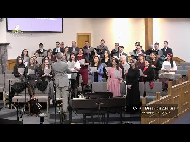 Corul Bisericii Aleluia - Februarie 16, 2020
