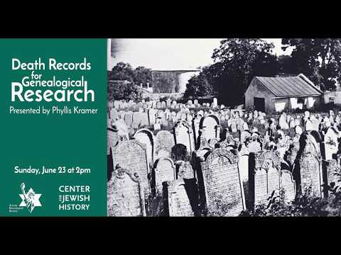 Death Records For Genealogical Research