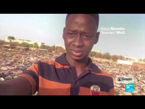Selfies to fight against trash in Mali