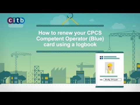 Renew a blue card citb how to renew a blue competent operator card fandeluxe Images