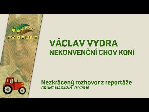 Václav Vydra - Nekonvenční chov koní (Grunt Magazín)