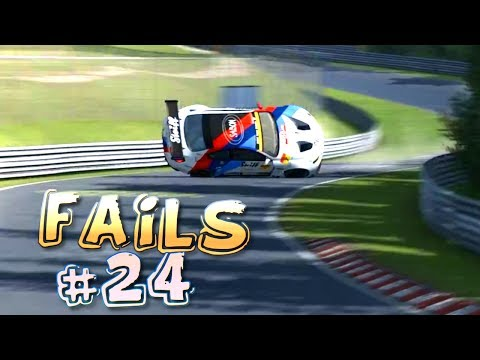Racing Games FAILS Compilation #24