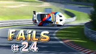 Racing Games FAILS Compilation #24