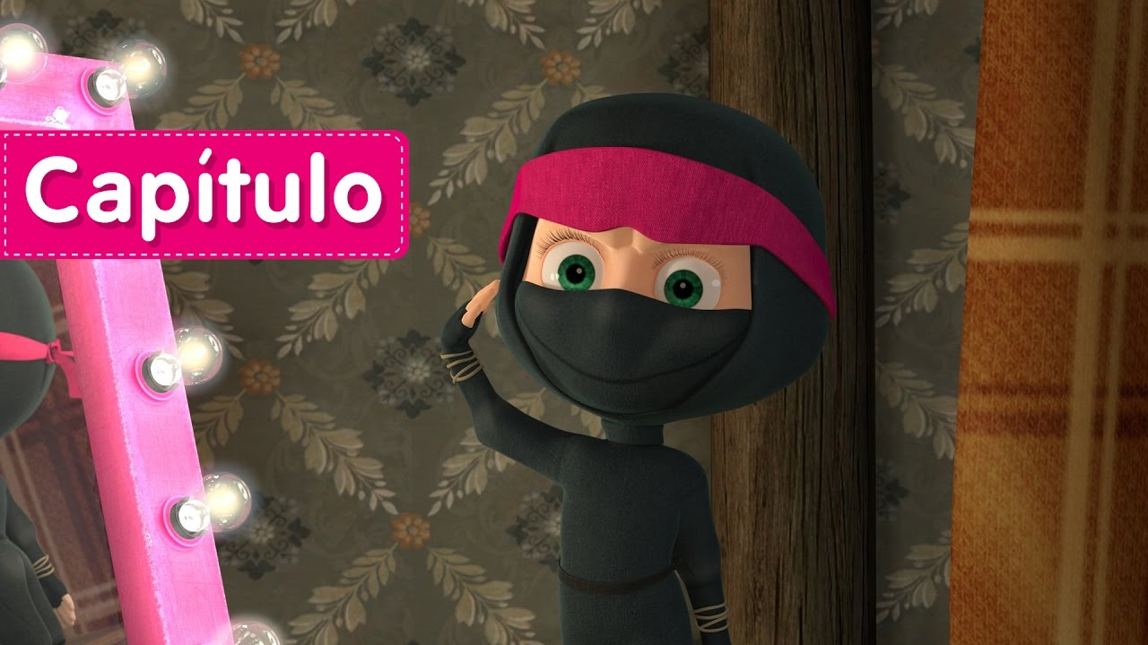 Masha y el Oso - LOS VENGADORES (Capítulo 51) Dibujos Animados en español!