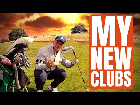 Playing Golf With MY NEW GOLF CLUBS...