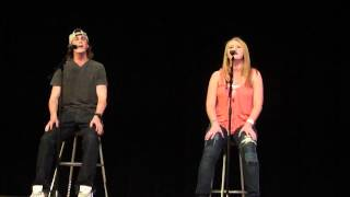 """Just Give Me a Reason"" by Pink Sung by Jamie Block & Zack Graham"