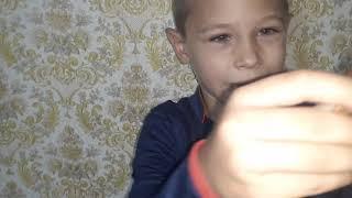 Видео для детей. Саша Крут Обзор конструктора спецназ-вертолёт. Видео для мальчиков.