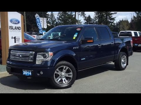 2014 Ford F-150 Limited W/ NAV, Backup Camera, Leather Review| Island Ford