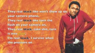 Childish Gambino - Backpackers - Lyrics