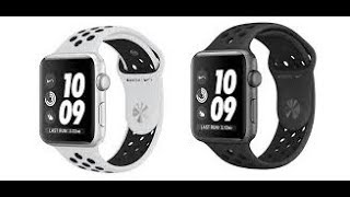 Apple Watch series 3 42M Nike+ Aluminium space grey model