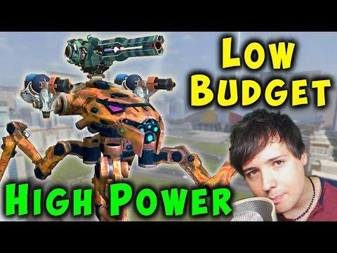 Low Budget  High Power RAYKER GUIDE - War Robots Mk2 Gameplay WR