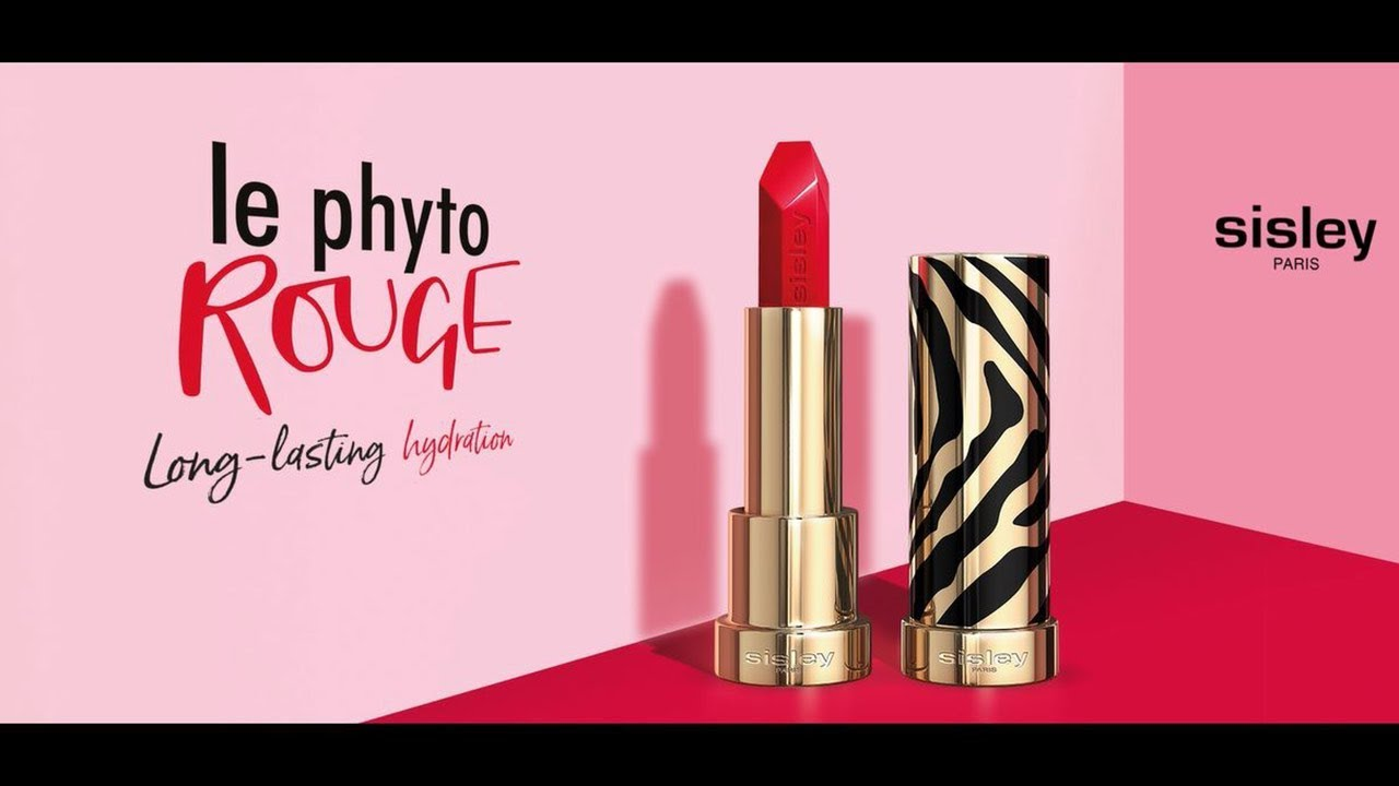 SISLEY PARIS / Le Phyto-Rouge Lipstick - YouTube