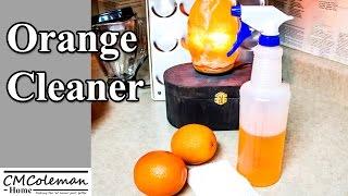 How To Make Easy DIY Homemade Orange Cleaner