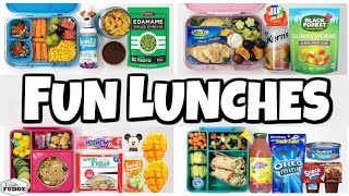 Letting YOU DECIDE our lunch 🍎 Making YOUR Lunches  (Part1)