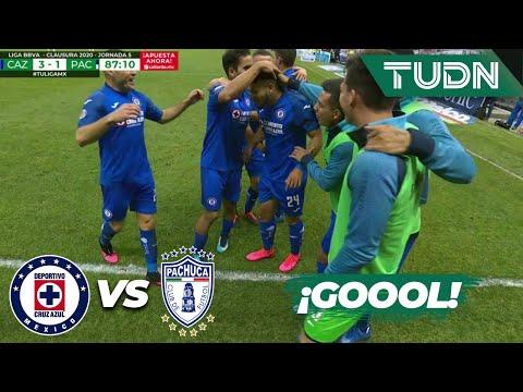¡Goool! 'La Maquina' hace el tercero y se crece | Cruz Azul 3 - 1 Pachuca | Liga Mx J5 CL2020 | TUDN