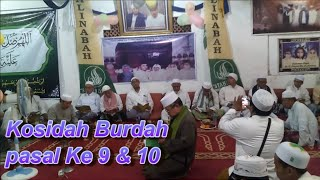 Qasidah Burdah Psl. 9 & 10