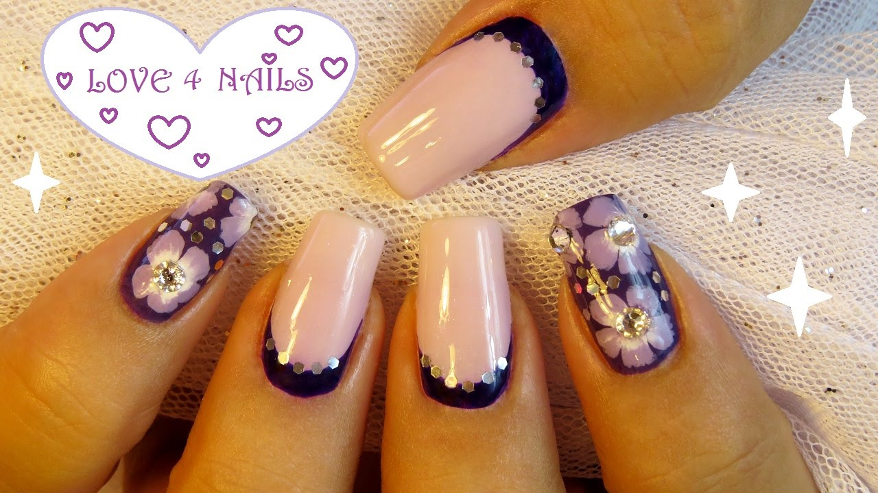 Manicure Monday Nail Art Design #4 StyleHaul Blog - YouTube