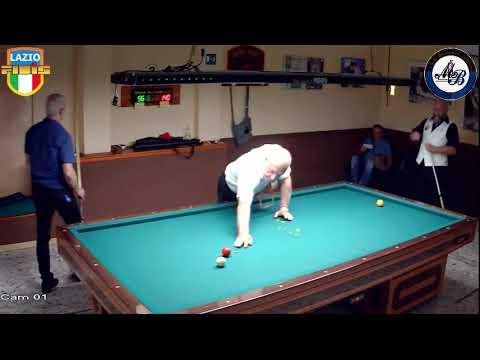 Cisterna vs De Carlo - Gara Regionale Hand. 1/2/3 CSB Martino's Billiards(LT) 13/16Lug2017