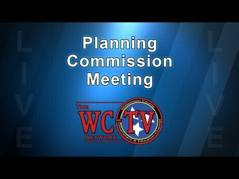 Williamson County Planning Commission Meeting - March 8, 2018