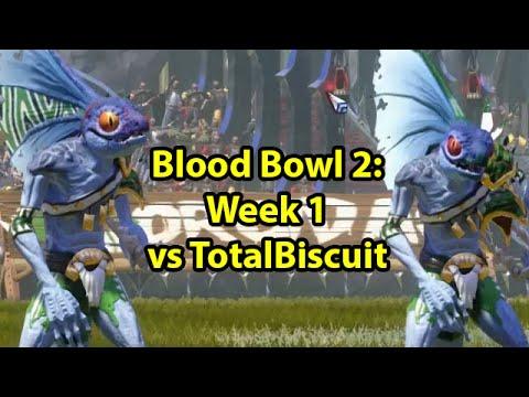 Blood Bowl 2: Crendorian Invitational Week 1 vs TotalBiscuit