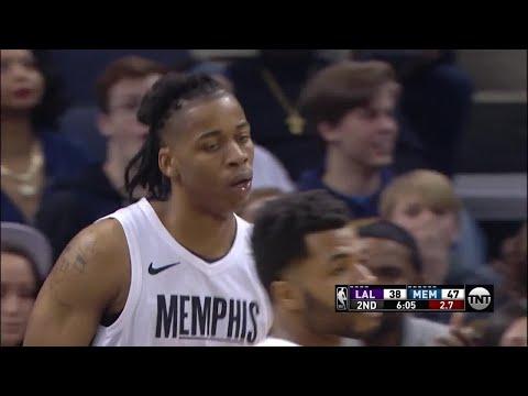 2nd Quarter, One Box Video: Memphis Grizzlies vs. Los Angeles Lakers