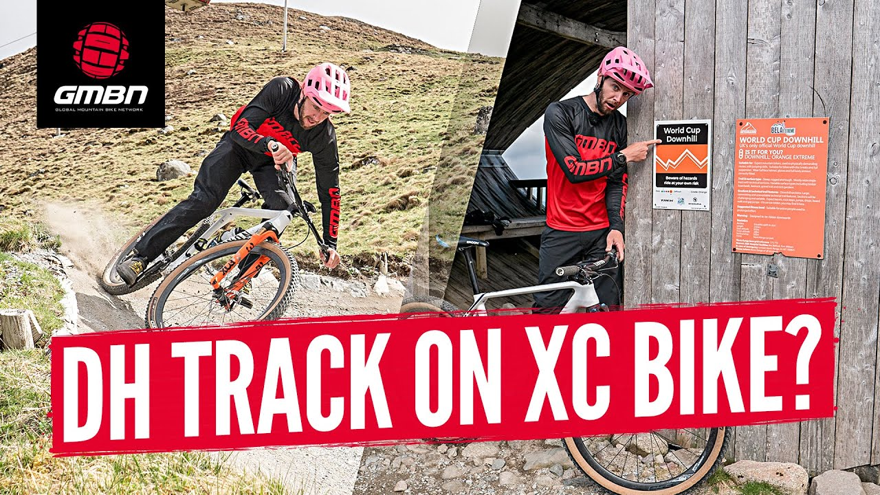 Can You Ride A Cross Country Hardtail Down Fort William Downhill Track?
