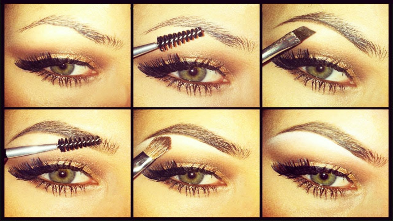 Natural or Dramatic- Eyebrow Tutorial *New Technique ...