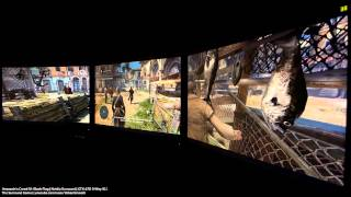 Assassin's Creed Iv: Black Flag - Nvidia Surround - Gtx 670 3-way Sli