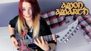 AMON AMARTH Guardians Of Asgaard GUITAR COVER With SOLO Jassy J