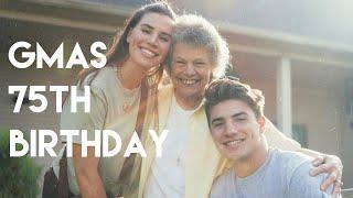 VLOG 162: Grandma's 75th  Birthday