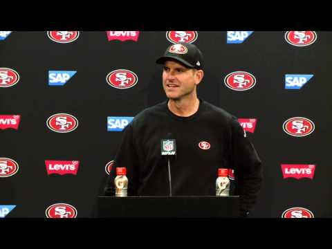 49ers Vs Chiefs Postgame Press Conference - Jim Harbaugh