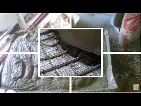 Состав бетонной смеси для тёплого пола
