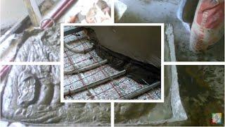 видео Пластификатор для стяжки теплого пола