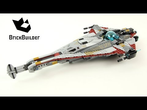 Lego Star Wars 75186 The Arrowhead   - Lego Speed Build
