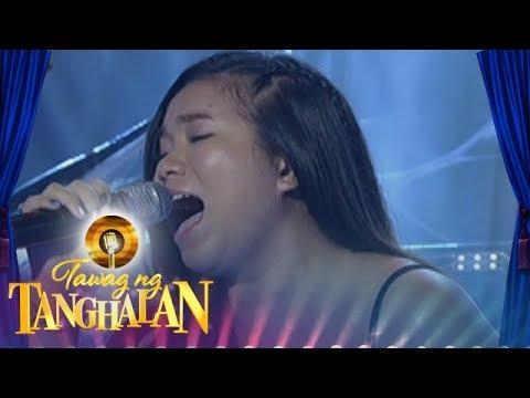 Tawag ng Tanghalan: Yvette Celoso  Akin Ka Na Lang