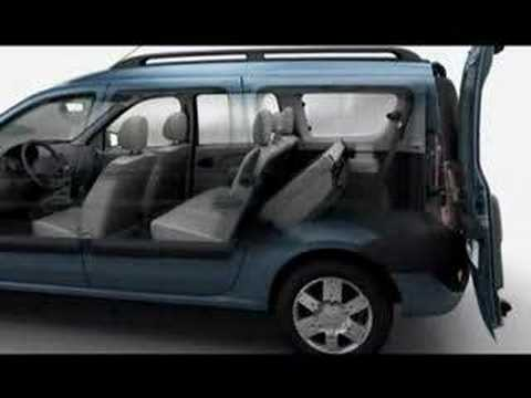 dacia logan break youtube. Black Bedroom Furniture Sets. Home Design Ideas