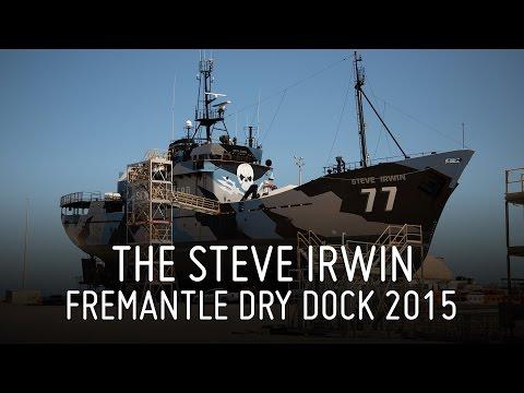 Steve Irwin Dry Dock 2015, Fremantle, Australia
