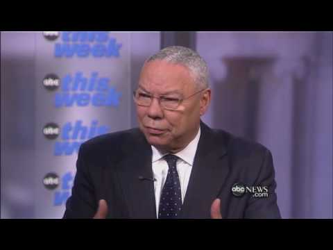 Interview With Colin Powell (Part 1)